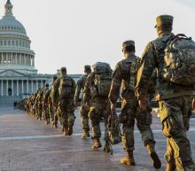 National Guard troops defending the Capitol have reportedly been told to be prepared for IED threats