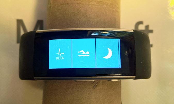 Microsoft was working on a Band that tracked your swimming