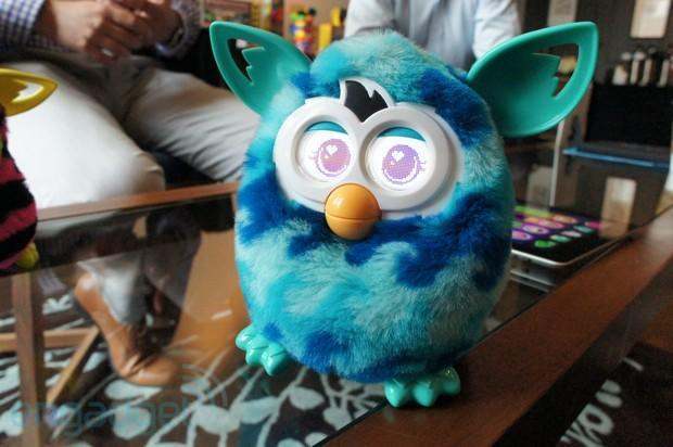 Witness Furby Boom shower, lay an egg, go to the bathroom (video)