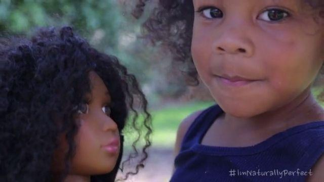 Introducing Angelica The Doll Whose Afro You Can Style For Real