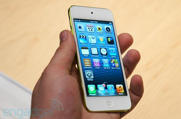 5th-generation iPod touch hands-on!