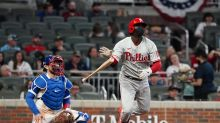 Gregorius powers Phillies to narrow win over Braves