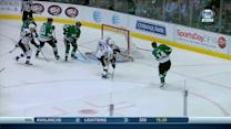 Jamie Benn rips one over Fleury