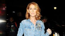 Celine Dion Channels Justin and Britney in Head-to-Toe Denim