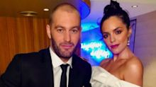 Former Neighbours star Olympia Valance announces her engagement to Thomas Bellchambers