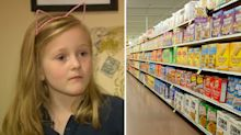 'Whoever finds this, I love you': Little girl discovers stranger's generous gift at supermarket