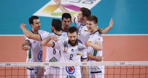 Volley - CEV - Tours remporte la Coupe de la CEV face à Trente