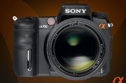 Sony (briefly) reveals all about Alpha a700 DSLR
