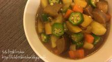 素食有營 - 秋葵蔬菜咖哩
