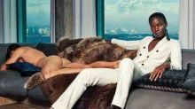 女裝西裝品牌廣告上的裸男!將「傳統」性別定型逆轉