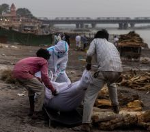 Mass Grave Dug on Banks of Ganges for 100 Possible COVID Victims Found Floating Down River