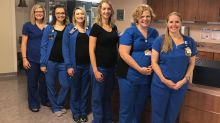 Six nurses from the same department are pregnant at the same time