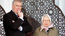 Geburtsags-Post der Queen für Andrew in der Kritik
