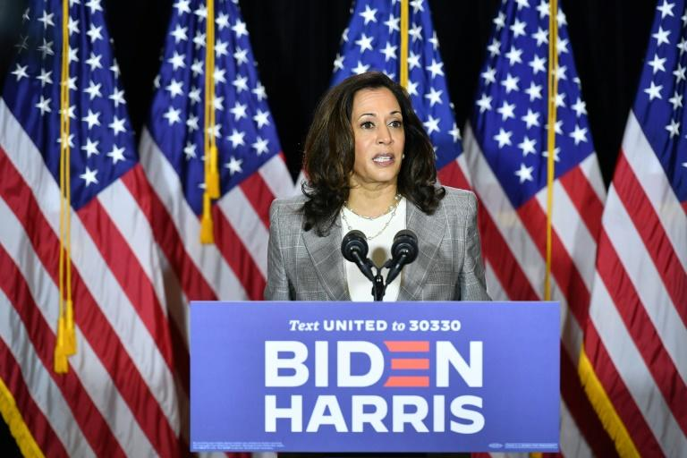Biden blasts Trump for 'abhorrent' birther rhetoric on Harris