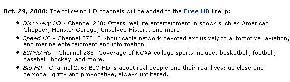 Time Warner Cable finally recognizes Raleigh, adding 4 HD channels
