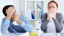 Brits are only taking 2.5 sick days a year