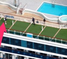 The Diamond Princess cruise ship, where at least 634 people caught the coronavirus, is setting sail again in April. Here's how it's being cleaned.