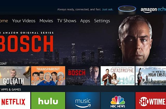 Amazon's new look for Fire TV is rolling out now