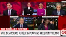 CNN reporter gets attacked by lizard on live TV