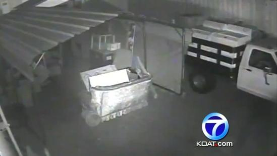 Truck stolen from charity that helps homeless vets