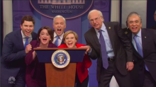 'Saturday Night Live': Democratic Candidates Interrupt White House Coronavirus Press Conference (Watch)