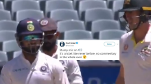 Rishabh Pant Sledging Pat Cummins From Behind the Stumps Has Got Twitter Talking