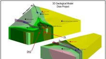 Great Bear Provides 3D Model of Gold System at Dixie