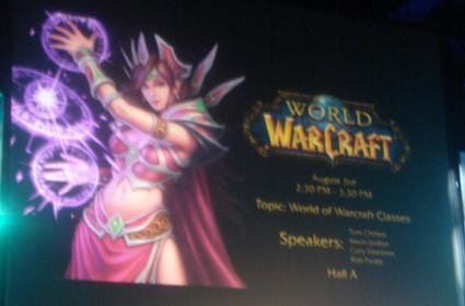 Liveblogging the BlizzCon WoW Class Panel