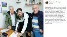 Frank Matano debutta in prima categoria, in campo il 'papà' di tutti gli youtuber