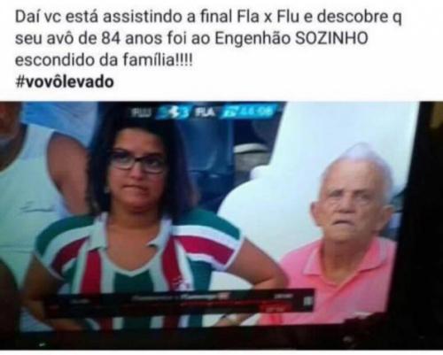 #vovôlevado! Senhor dá um 'mim acher' na família após ir ao Niltão: 'Ninguém esperava'