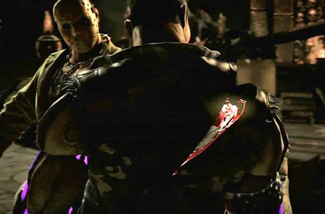 Watch Jason Voorhees hack up rivals in 'Mortal Kombat X'