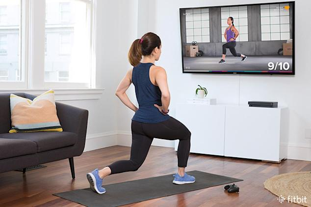 Fitbit's Xbox coaching app helps you work out between games