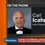 Icahn Says He's Not Aiming to Stop Occidental's Anadarko Deal