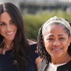 Meghan Markle's mum has arrived in England ahead of the royal baby's arrival