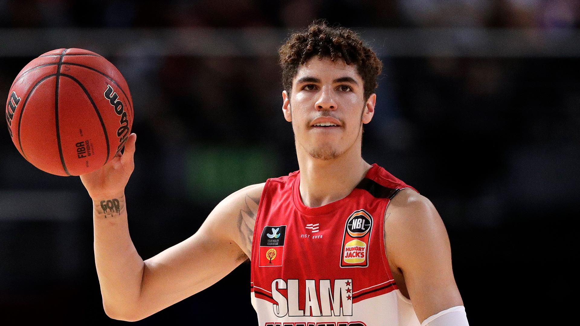 Warriors Draft Possibility Lamelo Ball Out Four Weeks With