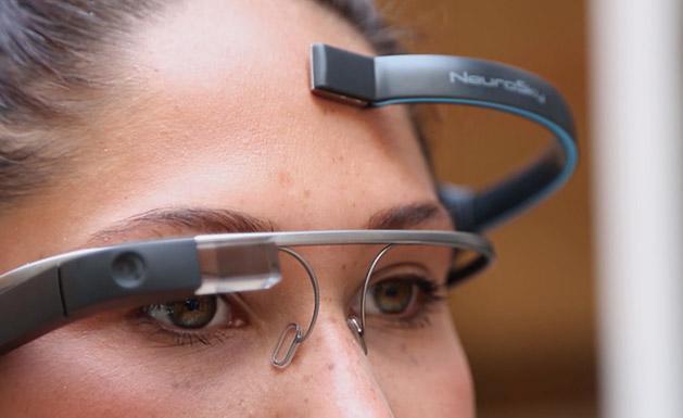 Google Glass mit Gedankensteuerung