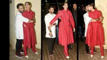 Sonam and Anand indulged in PDA at the screening of 'The Zoya Factor'