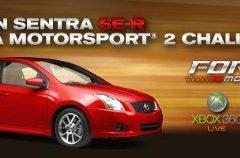 Win big in Forza 2 Nissan Sentra challenge