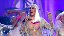 Cher Parades Around Billboard Music Awards in Pasties at Age 71
