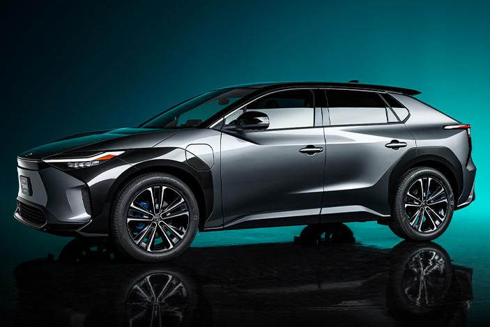 Toyota's first electric vehicle will hit the road in 2022