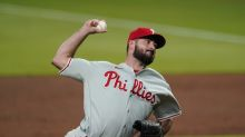 It took Brandon Workman only one pitch to blow his first save with Phillies