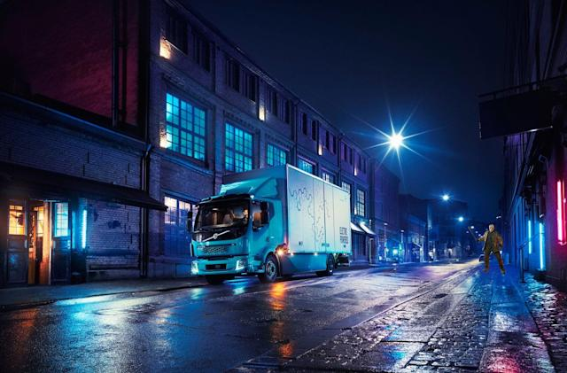Volvo's first electric truck is built for city use