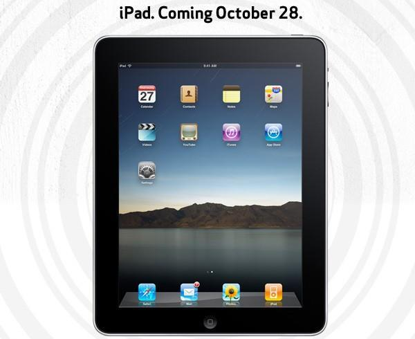 iPad going on sale in Verizon Wireless and AT&T stores October 28 (update: Verizon data pricing)