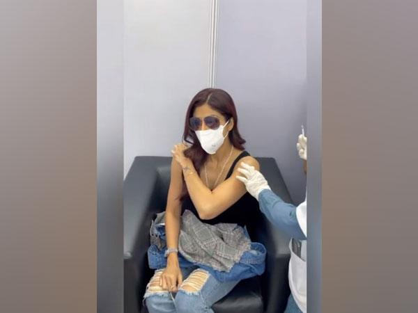 Shilpa Shetty Receives Second COVID Vaccine, Urges People To Get Vaccinated