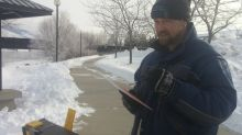 Why this plein-air artist chooses to paint in subzero temperatures