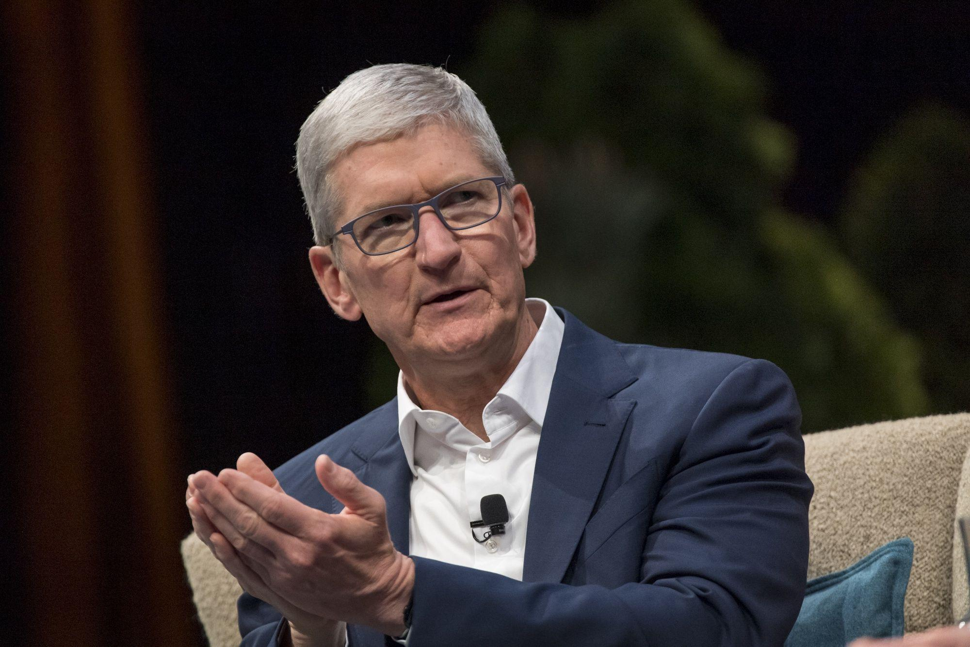 Apple's Tim Cook Sees Minor Supply Chain Changes in Wake of Virus