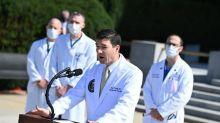"""La santé de Donald Trump continue de """"s'améliorer"""", son retour à la Maison Blanche envisagé dès lundi"""