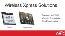 Silicon Labs' Wireless Xpress Modules Deliver Bluetooth and Wi-Fi Connectivity with Zero Programming