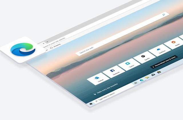 Microsoft's Chromium Edge browser arrives January 15th