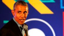 Barack Obama says that 'men have been getting on my nerves lately'